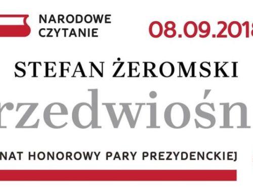 «Провесінь» Стефана Жеромського – головний твір цьогорічного Національного читання у Польщі