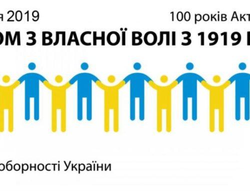 Рік 1919: Українська Революція – Україна соборна